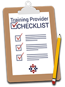 Training Provider Checklist