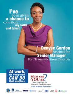 Who I Am Poster; Denyse Gordon